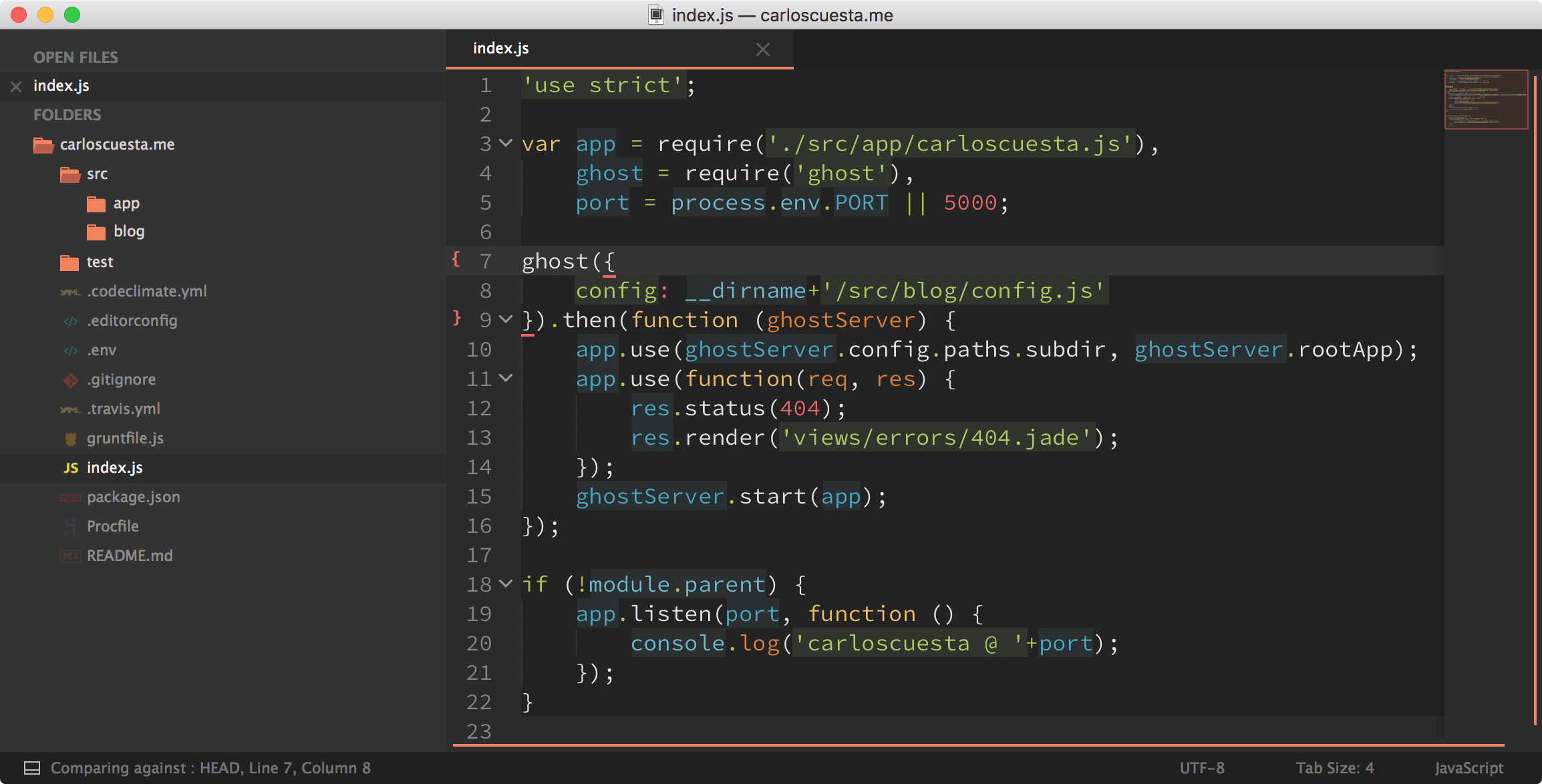sublime text 3 color schemes